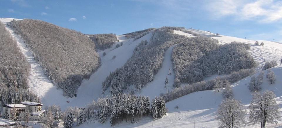Direttamente sulle piste da sci